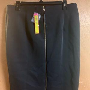 NWT Catherine Malandrino black pencil skirt